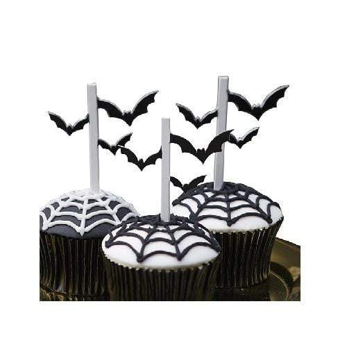 Halloween Bat Cupcake Toppers