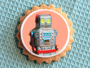 Sweet Whimsy Edible Robot Images