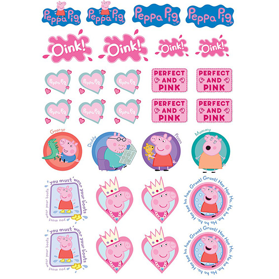 Peppa Pig Edible Icons