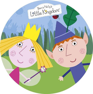 Ben & Holly's Little Kingdom Edible Cake Image