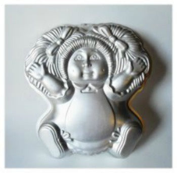 Cabbage Patch Doll Cake Tin Hire
