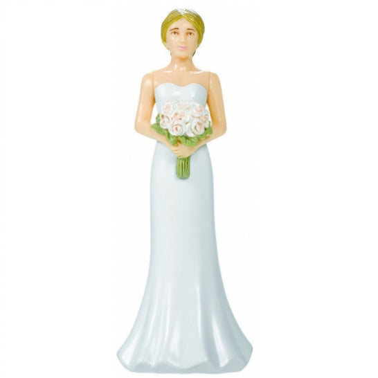 Wedding Cake Topper - Bride Blonde
