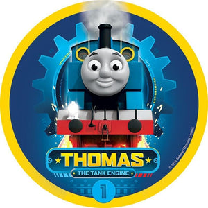 Thomas the Tank Engine Edible Cake Image