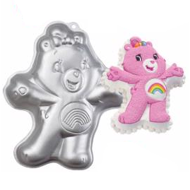 Cheer Bear Care Bears Cake Tin Hire