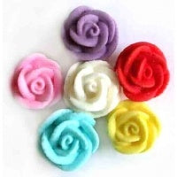 Edible Rose 3cm