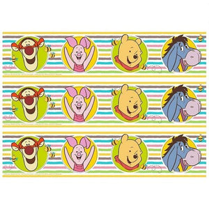 Winnie the Pooh Cake Strip Edible Images