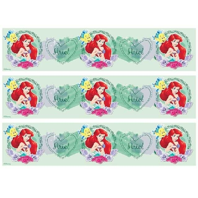 The Little Mermaid Cake Strip Edible Images