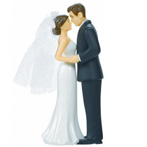 Wedding Cake Topper - Bride & Groom