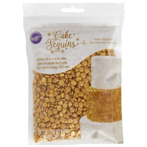 Wilton Gold Cake Sequins