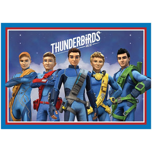 Thunderbirds Are Go Edible Cake Image - A4 Size