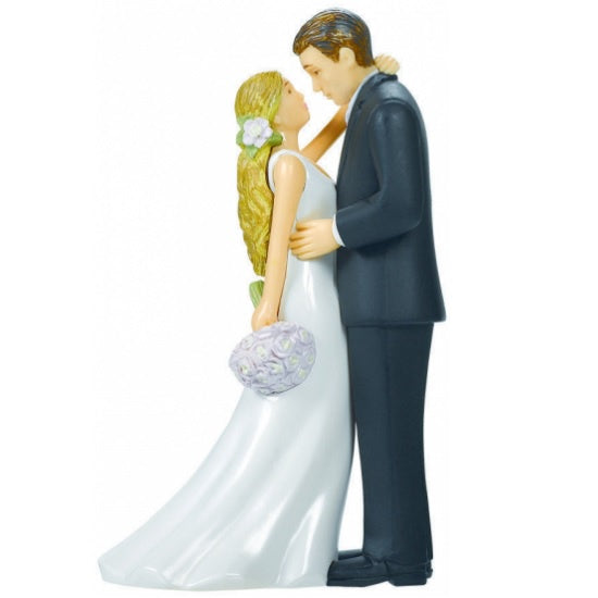 Wedding Cake Topper - Bride & Groom Blonde