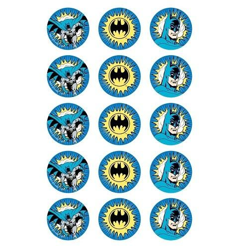 Batman Edible Cupcake Images
