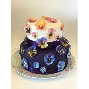 Sweet Whimsy Edible Pansy Images