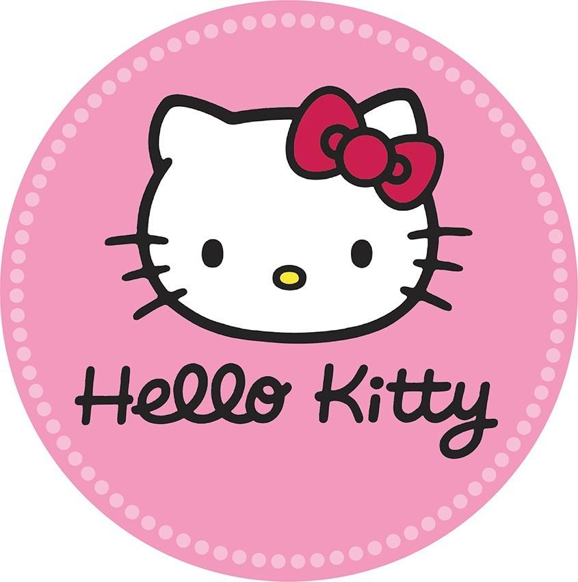 Hello Kitty Edible Cake Image