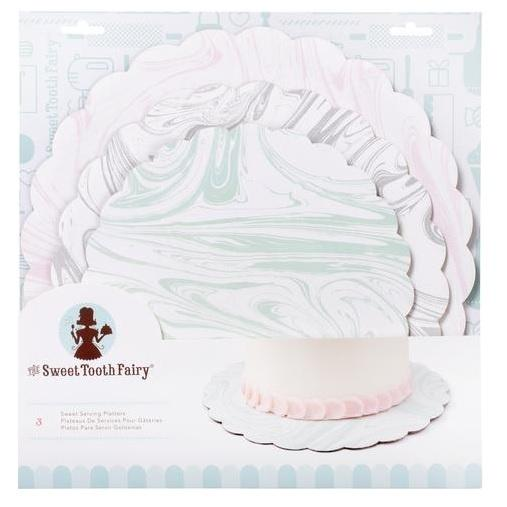 Sweet Tooth Fairy Serving Platters - Marble