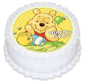 Winnie the Pooh Edible Cake Image