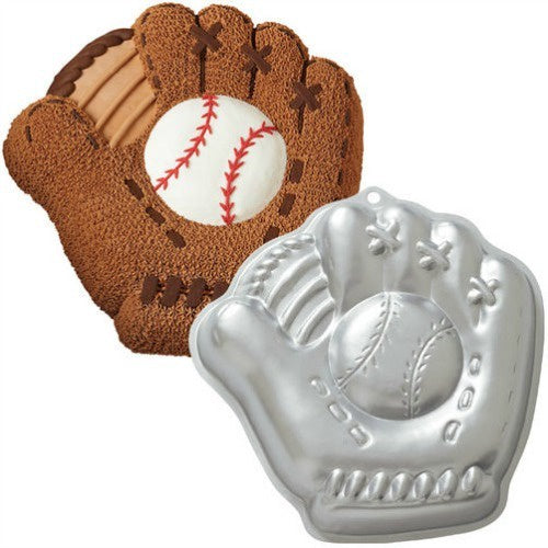 Baseball Glove Cake Tin Hire