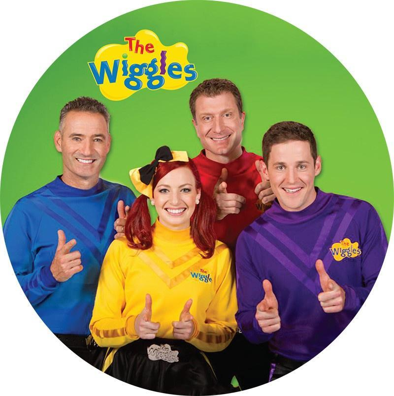 The Wiggles Edible Cake Image - New Style