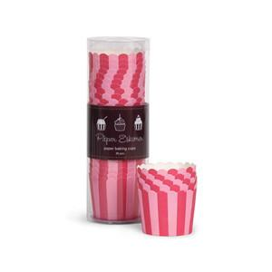 Paper Eskimo Pink Stripes Cupcake Papers