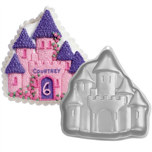 Enchanted Castle Cake Tin Hire