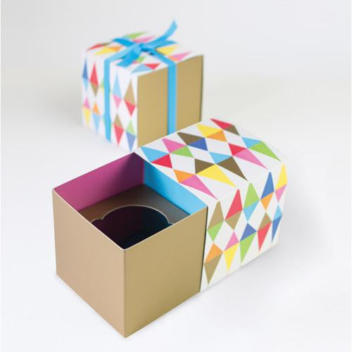 Paper Eskimo Cupcake Gift Boxes - Carnival Chaos