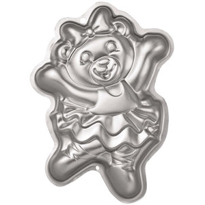 Ballerina Bear Cake Tin Hire