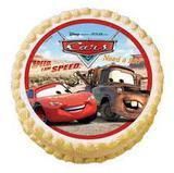 Disney Cars Lightning & Mater Edible Cake Image