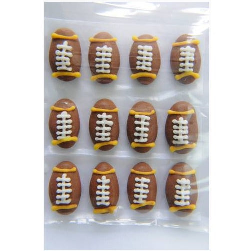Rugby Balls Edible Cake Decorations