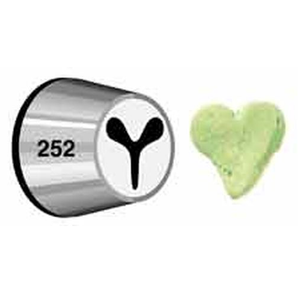 Wilton #252 Heart Decorating Tip