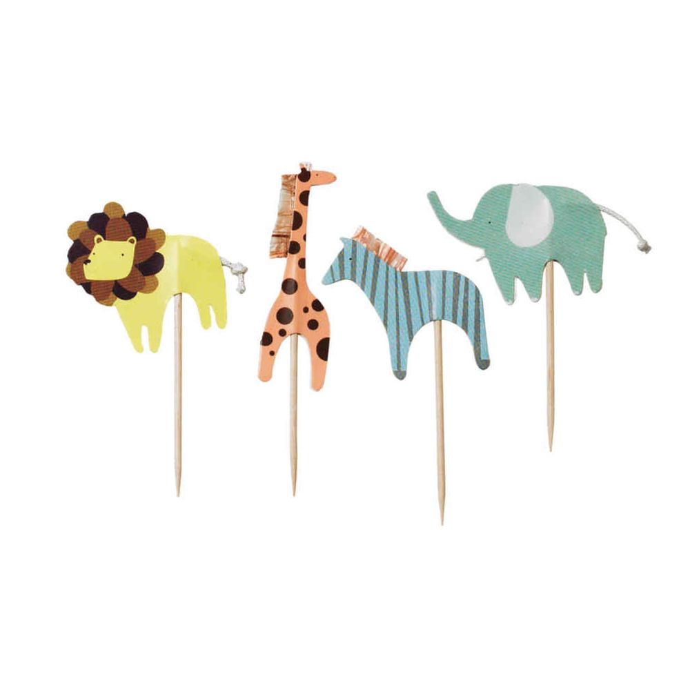 Baby Animals Cupcake Toppers