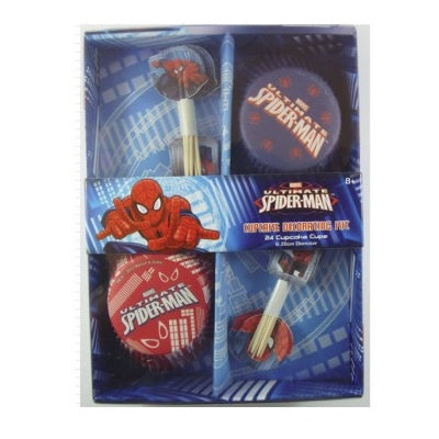 Ultimate Spiderman Cupcake Decorating Kit