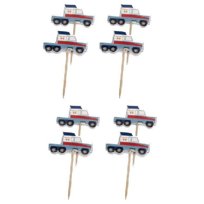 Big Rig Truck Cupcake Toppers | Roberts Confectionary