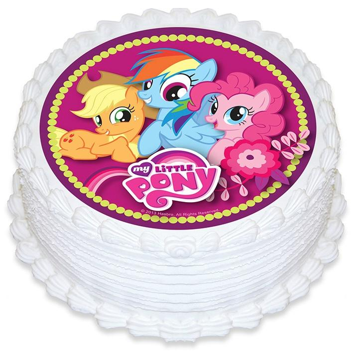 My Little Pony Edible Cake Image