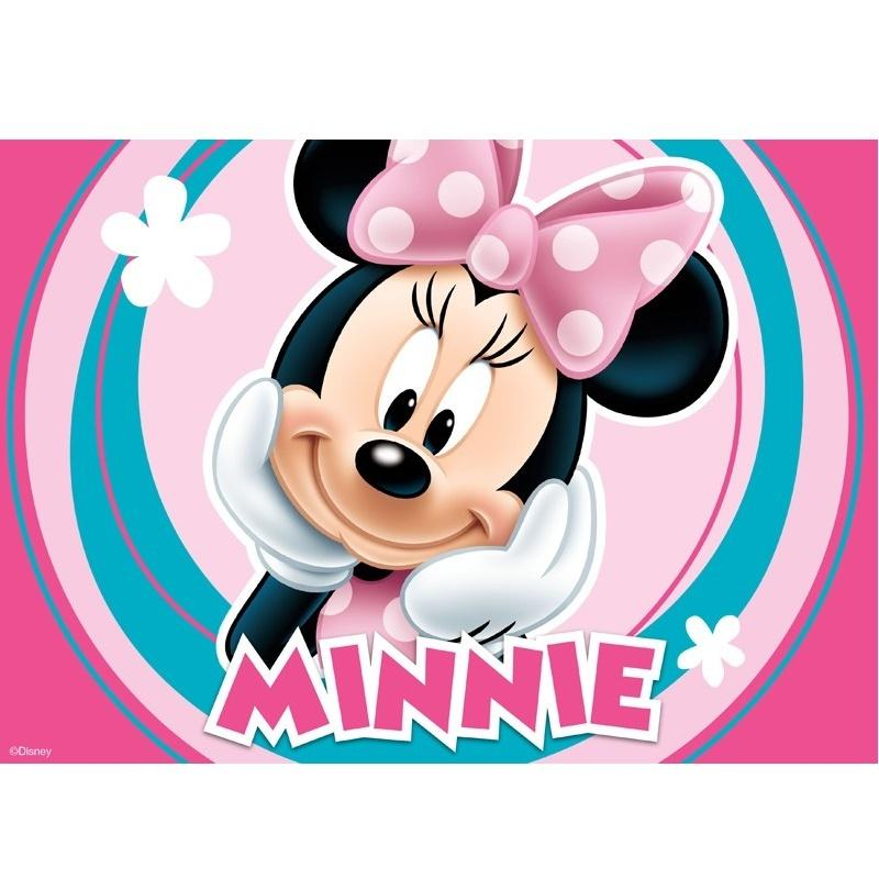 Minnie Mouse Edible Cake Image - A4 Size