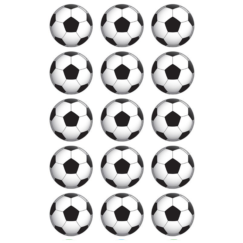 Soccer Ball Edible Cupcake Images