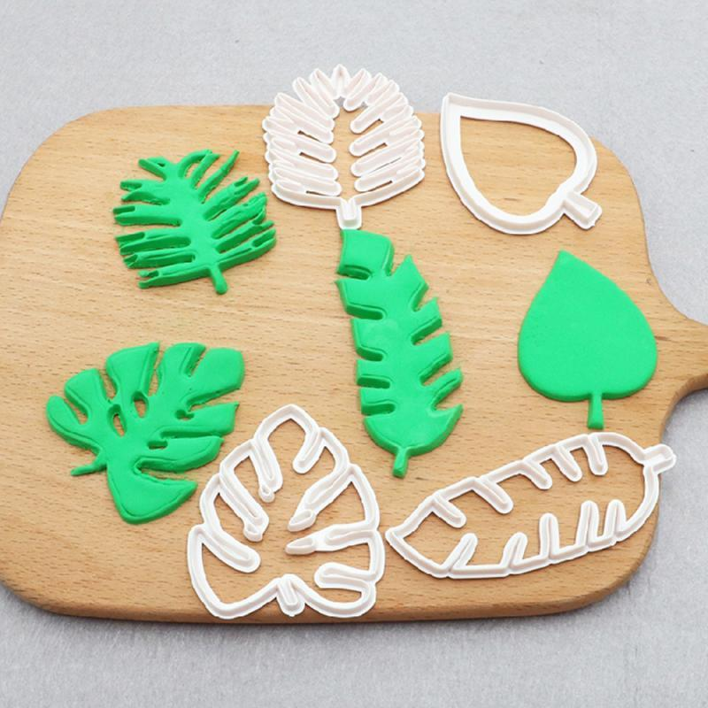 Leaf Fondant Cutter Set | Tropical Party Theme & Supplies | The Studio Workshop