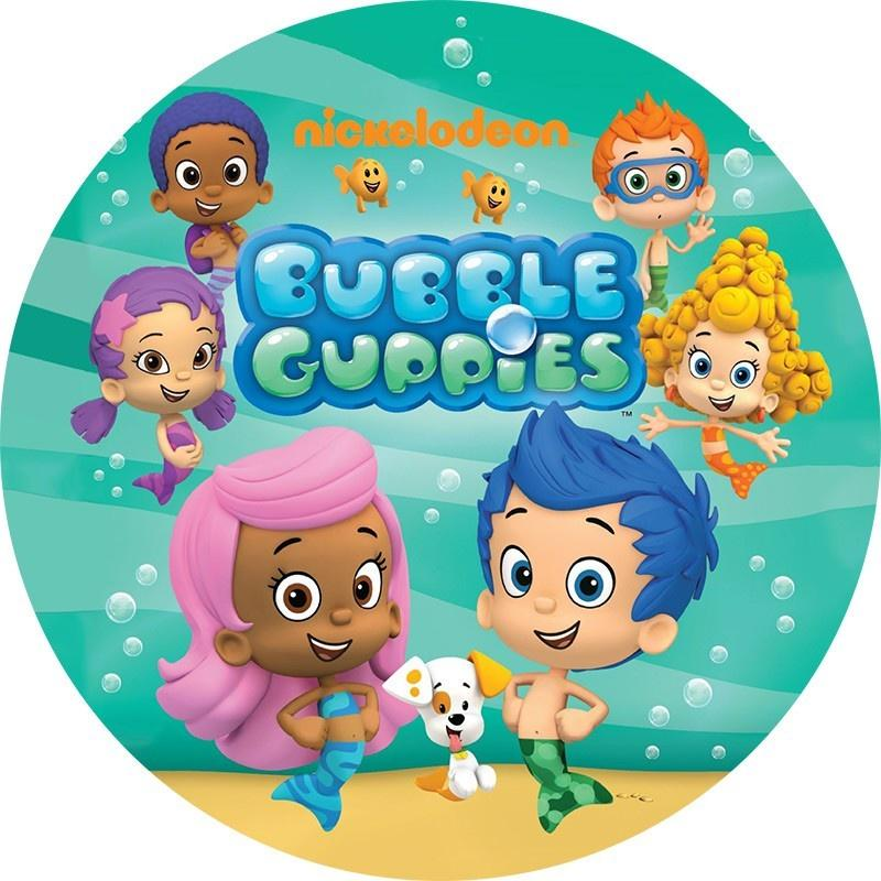 Bubble Guppies Edible Cake Image