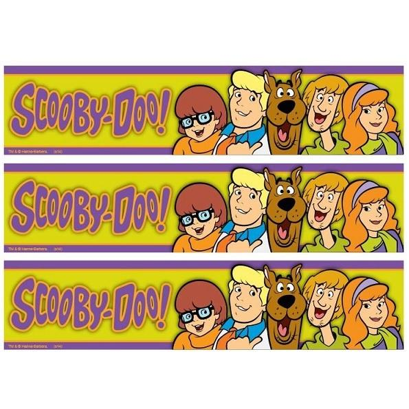 Scooby Doo Cake Strip Edible Images