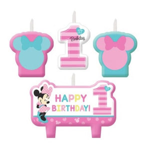 Minnie Mouse Fun to be One Candle Set