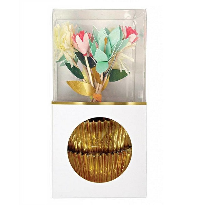 Meri Meri Flower Bouquet Cupcake Kit