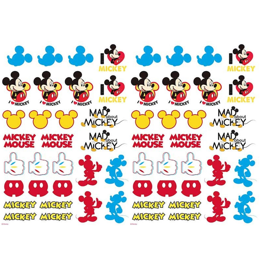 Mickey Mouse Edible Icons | Mickey Mouse Cake Decorations