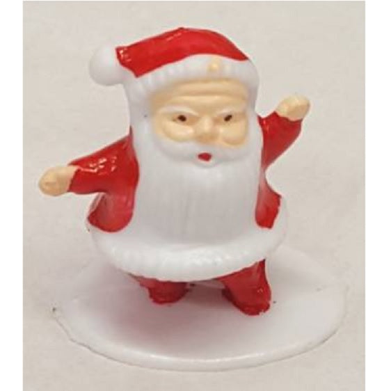 Mini Santa On Base Cake Topper