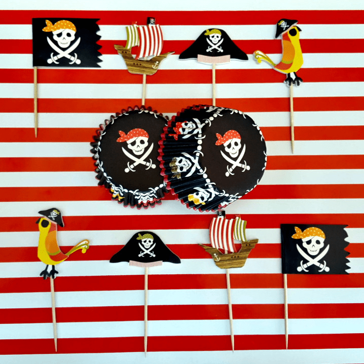 Pirates Cupcake Kit