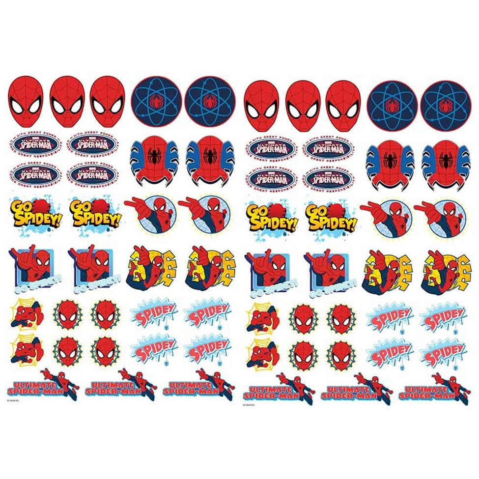 Spiderman Edible Icons | Spiderman Cake Decorations