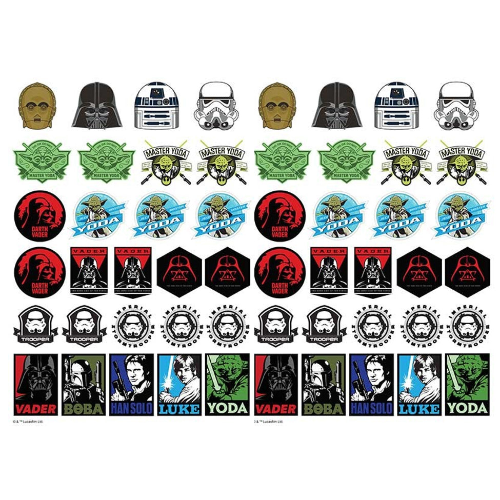 Star Wars Edible Icons | Star Wars Cake Decorations