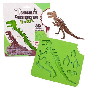 3D T-Rex Dinosaur Silicone Chocolate Mould