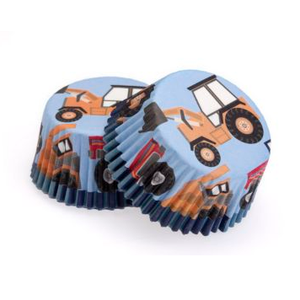 Construction Cupcake Papers