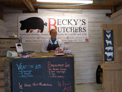 Becky's Butchers, Winner of Harwich Sausage Festival 2018 using Butchers Sundries products