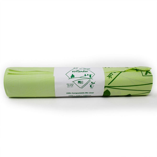 Ecolander 240 litre compostable food waste liner