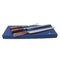 3 Piece DymondWood Carving Knife Gift Set with Rosewood Handles